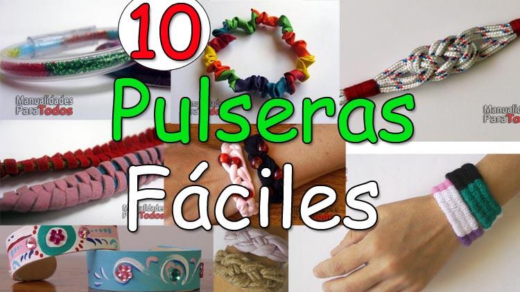 10 Pulseras faciles