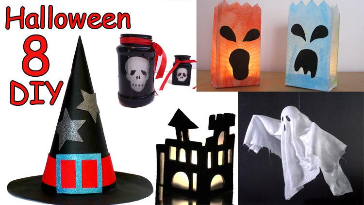 8 Manualidades para Halloween