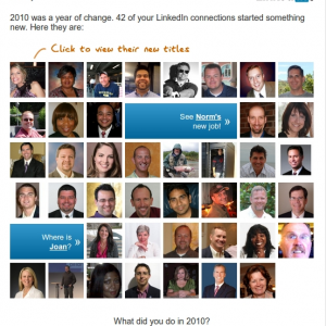 LinkedIn Contact Changes