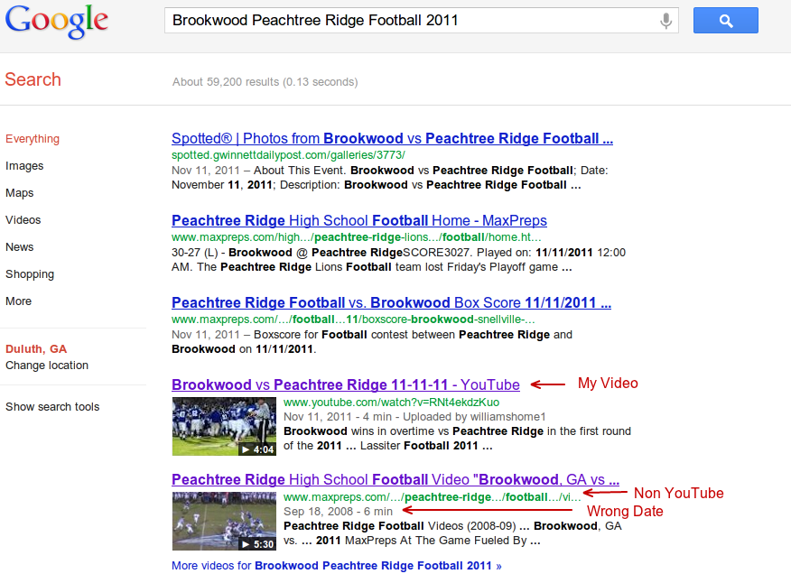 Brookwood Peachtree Ridge Football Search Results
