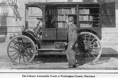 1916 Library Truck