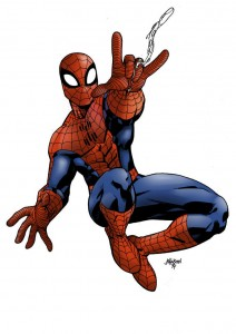 Spiderman_by_pauloskinner