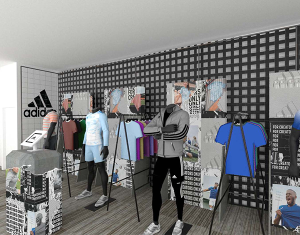 adidas usc baltimore sales room render