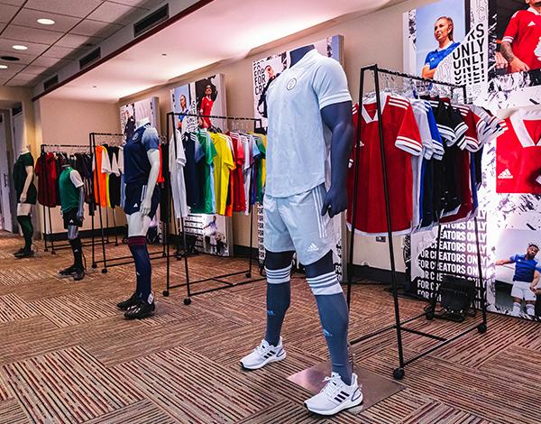 adidas usc Baltimore sales room entrance