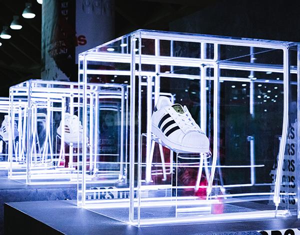 adidas shoe display usc baltimore