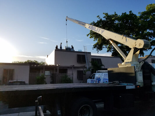 south florida townhome ac installation