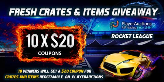 Rocket League Items Giveaway