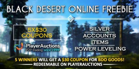 Black Desert Online Giveaway