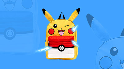 Pokemon Pikachu Backpack