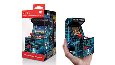 Gifts for Gamers Retro Arcade Machine Handheld Gaming System