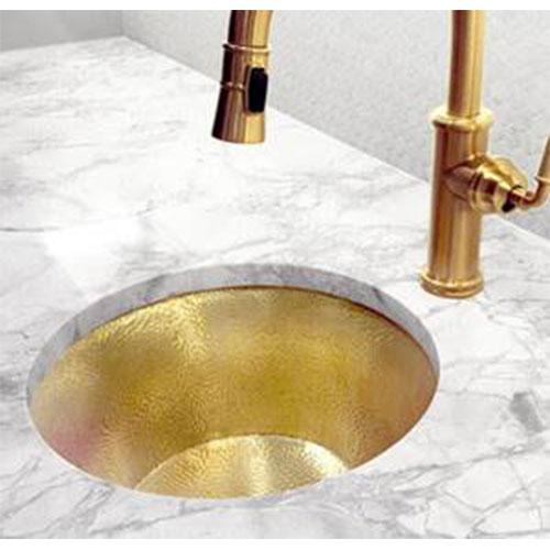 Link-a-Sink-Gold-Hammered - European Sink Outlet