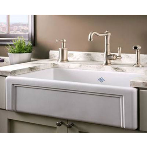 Rohl-Fireclay - European Sink Outlet