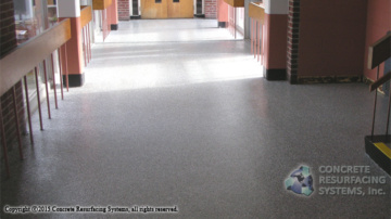 Color Flakes Epoxy Flooring