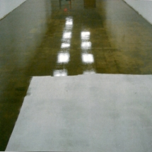Applying concrete sealer