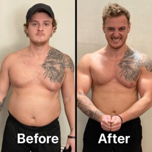 Matt's Personal Training Results in 6 months