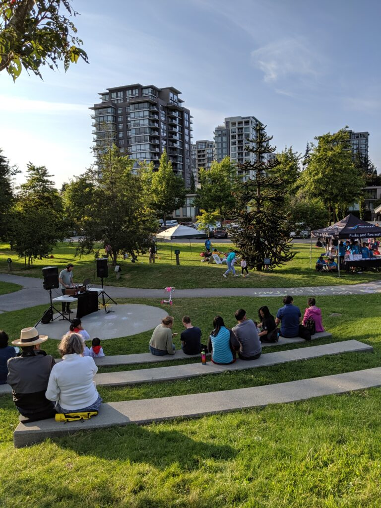 special events concerts in the park