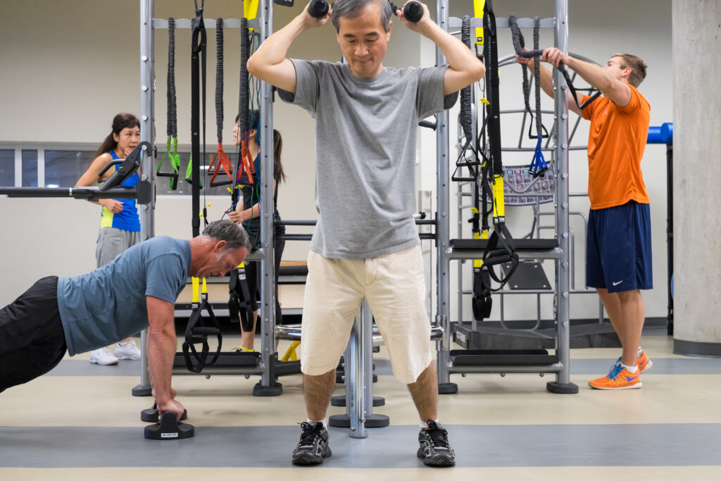 Fitness Centre facilities and adult programs