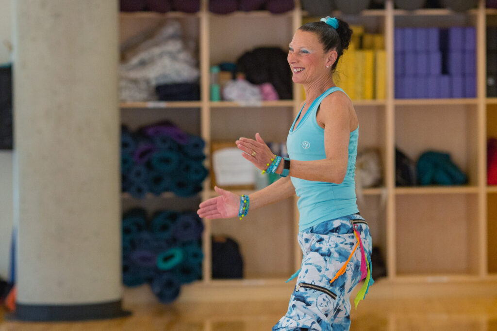work as a fitness instructor