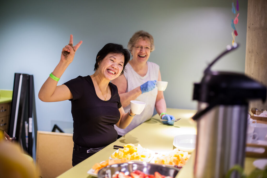 get involved and volunteer with Seniors Programs