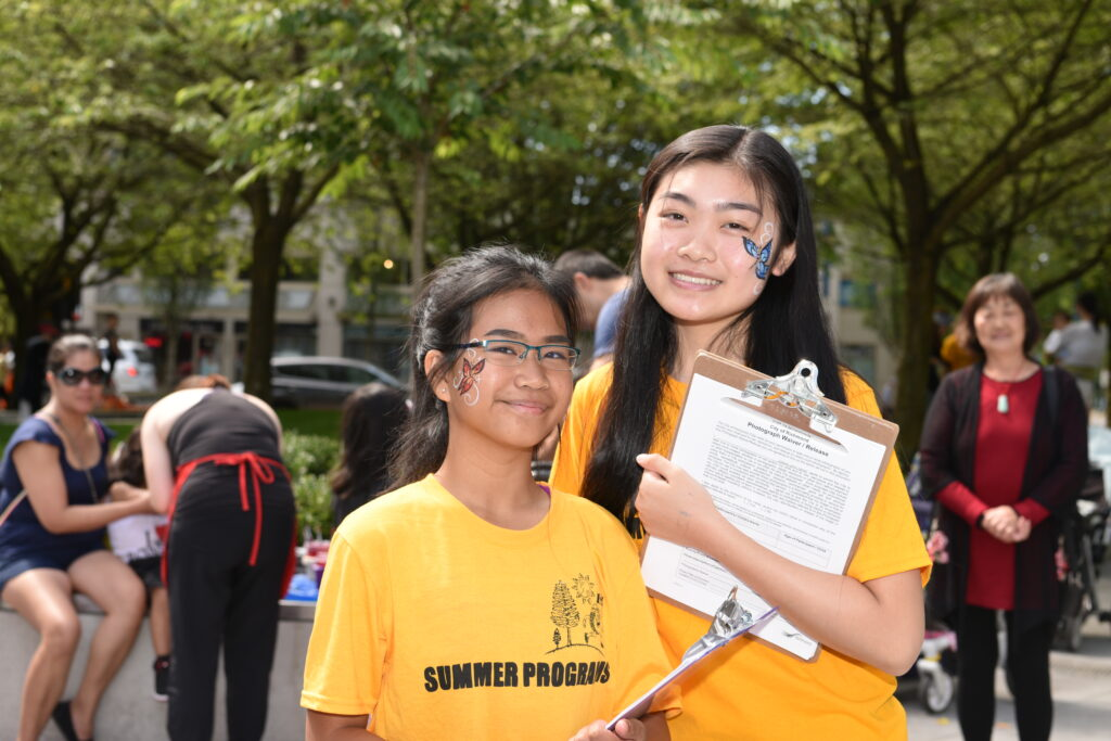 get involved as a youth volunteer