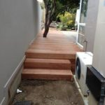 Deck 90mm merbua with step