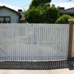 Gate Double Picket Feature with special capping