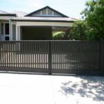 Gate Double swing with level top