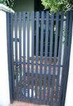 Gate Single vertical slat (skinny)