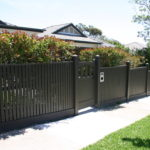 Picket Fence with Stepped panels