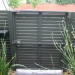 Slat Horizontal single gate (rear)