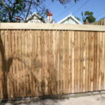Slide Gate Picket Feature with special capping
