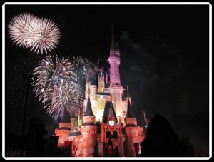 Cinderella's Castle December 2009