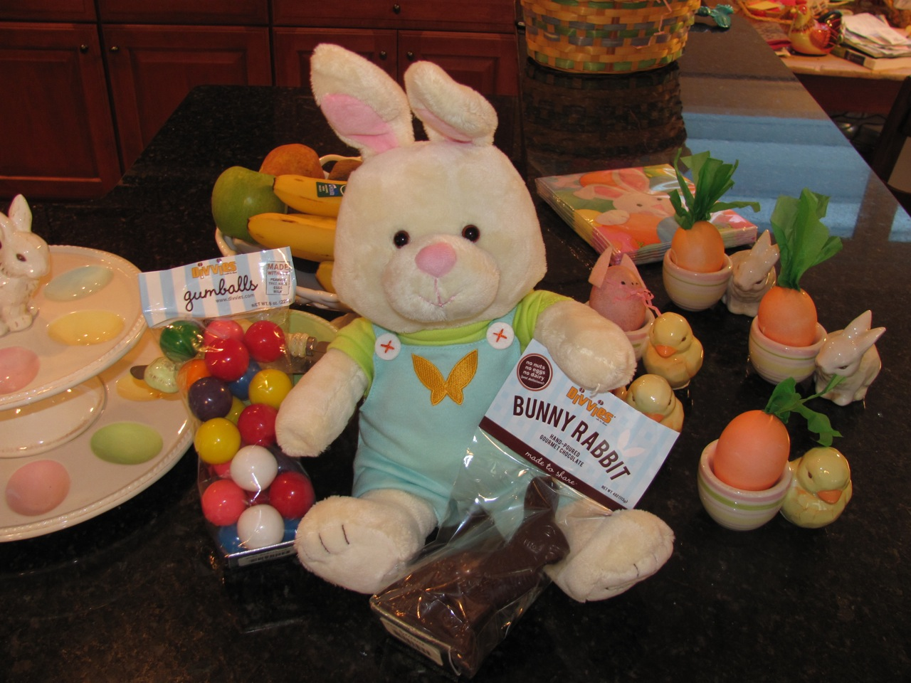 Chocolate Easter Bunny from Divvies
