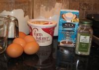 Scrambled eggs, rich and creamy
