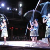 Dancers at the Spirit of Aloha at Disney
