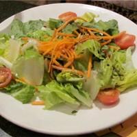 A dairy free salad at Wolfgang Puck