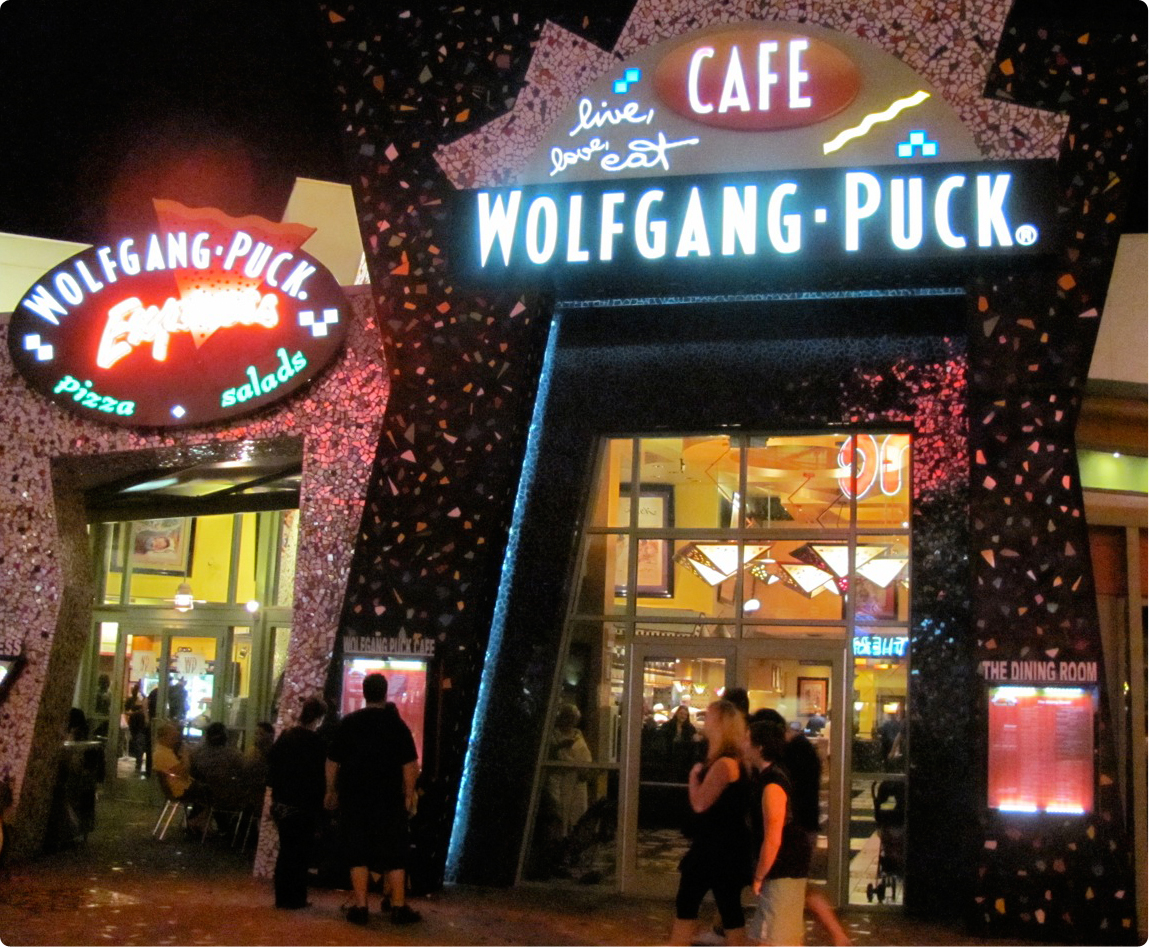 Wolfgang Puck Cafe allergy free
