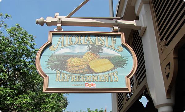 Aloha Isle in Adventureland