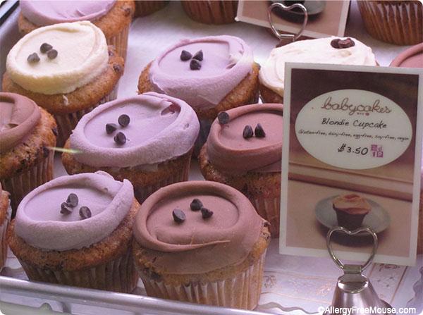 Blondie cupcakes at Babycakes NYC at Disney