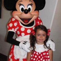 Minnie Mouse and our little mouse