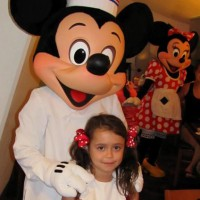 Chef Mickey meets our little mouse