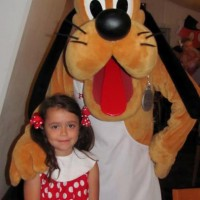 Pluto and our little mouse