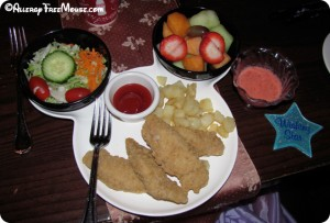 Allergy-free Chicken Fingers at Disney World