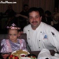 Return to Cinderella's Royal Table – food allergy dining review