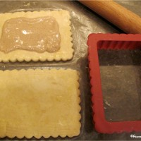 Diary-free pop tart assembly