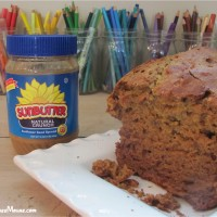SunButter Honey Bread nut-free, egg-free and dairy-free recipe