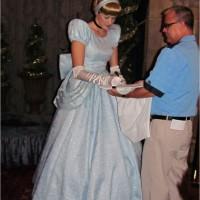 Cinderella autographs the pillow case