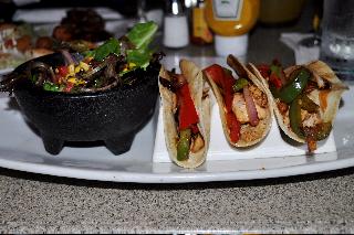 Gluten-free Chicken Tacos at Paridiso 37