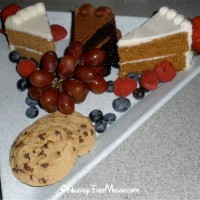 Dairy-free desserts at Tomorrowland Terrace