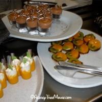 Dessert buffet at Tomorrowland Terrace
